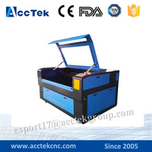 Acctek Chinese homemade laser cutting machine cnc , mini cnc laser cutting machine