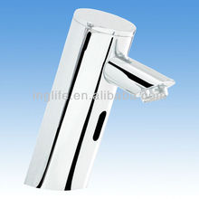 Luxury Brass Wash Basin Mixer, Hot & Cold Water Automatic Faucet, Chrome Finishing and Deck Mounted ING-9131