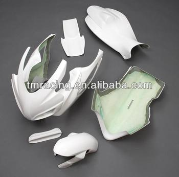 motorcycle Fiberglass Race fairing kit Bodywork for GSXR600/750 2006-2007