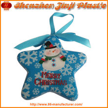 Plastic Christmas Star Gift Christmas Tree Decoration