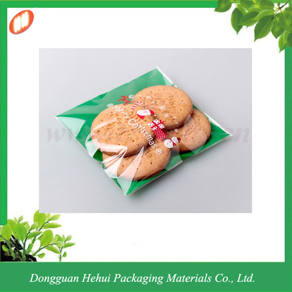 Clear plastic bags for cookies packaging