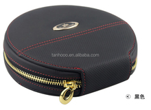 Luxury Marriage CD leather packing box,Personalized Leather CD DVD Case Carrying Case