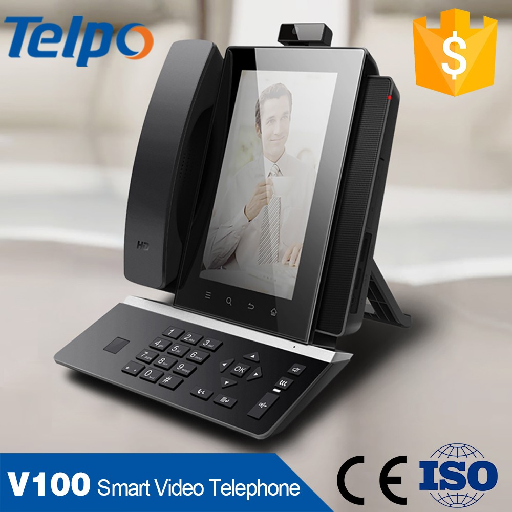 Hot Selling 2017 Android System Video Smart VoIP Telephone