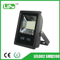 IP65 waterproof SMD 200w led garden light and floodlight energy star outdoor