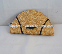 Straw fashion coin purse