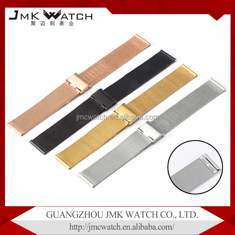 china factory product newest stainless steel 04 mesh watchband quick release 22mm stainless steel watch band
