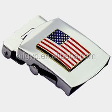Wholesale American flag military brand name belt buckle