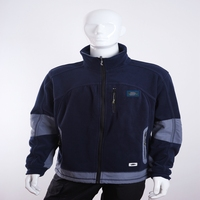 high quality windproof and thermal polar fleece jacket with UNI EN ISO 13688