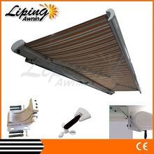 Electric sunshade, retractable sunshade for car