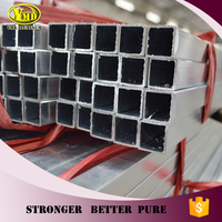 OEM color anodized square aluminum tube pipe
