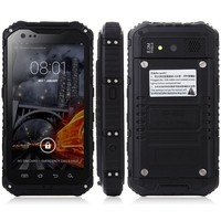 A9 rugged smartphone Android 4.4 MTK6582 4.3 Inch IP68 2GB 16GB NFC OTG 3G Green