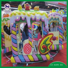 kids carnival rides electric christmas track train