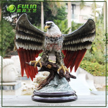 Home Decoration Resin Eagle Sculpture