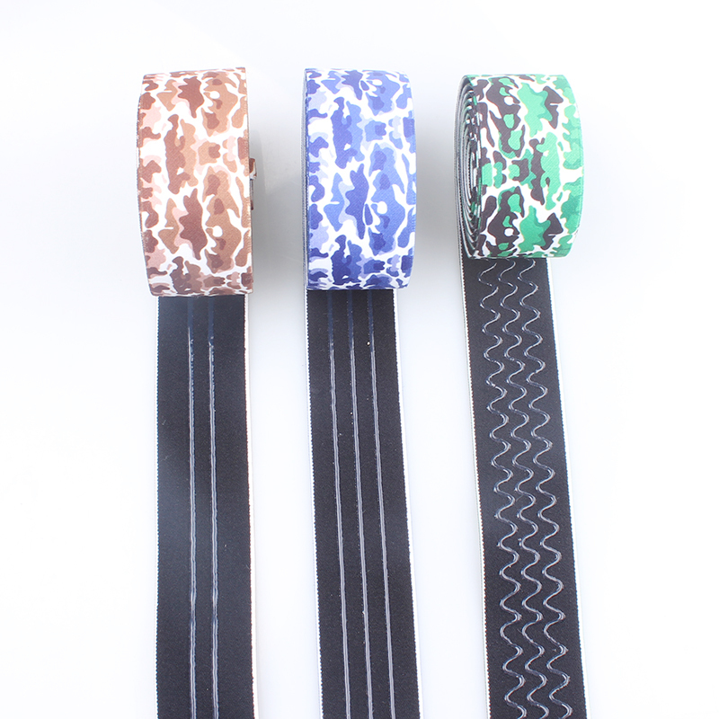 Custom 2016 non-slip elastic webbing with free samples