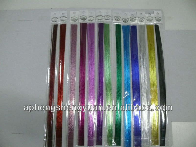 BEST-SELLING colored floral paper covered wire,gold color,pink ,bule color