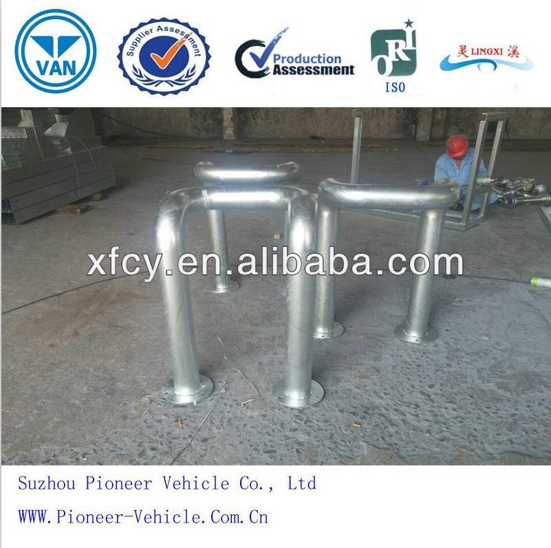 2014 Pipe Bend/bent stainless steel pipe factory/Suzhou Pioneer Vehicle(ISO approved)