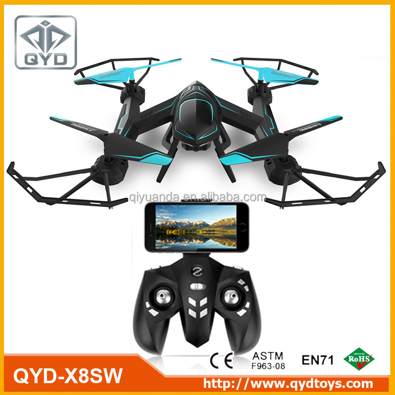 Hot sale 2.4GHz 4CH 6-Axis Gyro Headless drone with 720P WIFI transmission HD camera quadcopter fpv