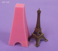 chocolate effiel tower mold,silicone chocolate mold tower,tower shaped cake mold