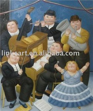 Hot seller Artistic Oil Painting Botero Painting