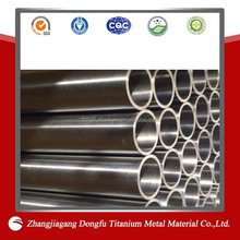 gr2 titanium tubes used in motorcycle exhaust muffler