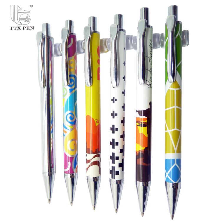 High quality promotion pens with custom logo,click custom pen with logo