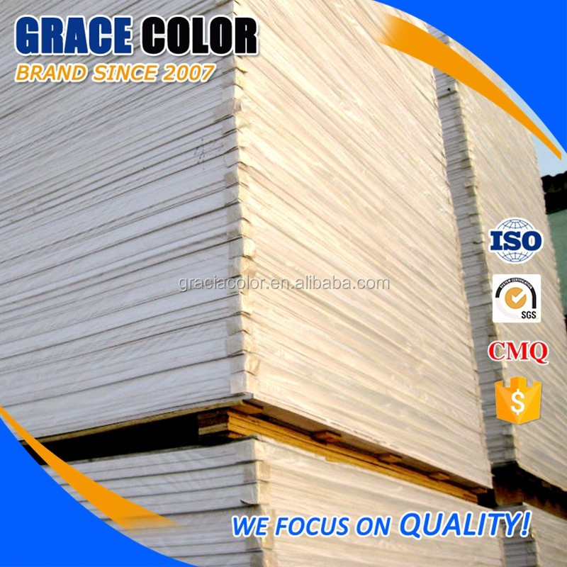 PVC acrylic material forex white pvc foam sheet for kitchen cabinet