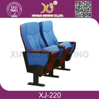 Auditorium Seat/Chair with Tablet Chairs with Writing Tables XJ-220