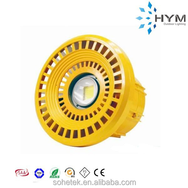 the latest design 50w COB led explosion-proof led gas station light