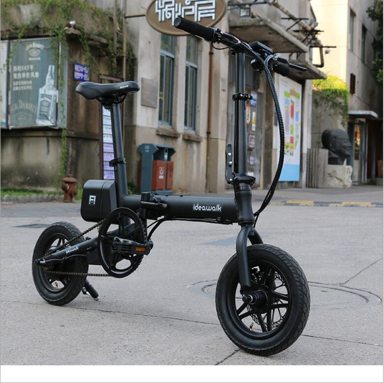 City Folding Motorcycle Electric Bicycle Mini Folding Ultra-light Lithium Electric Bicycle