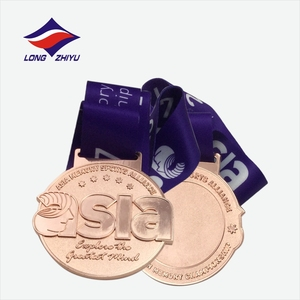 Professional custom made trophies and medals China asian match medal