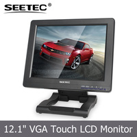 12.1'' HDMI VGA input 5-wire resistive lcd monitor Linux Win CE touchscreen tv