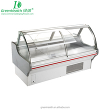Green&Health sliding door refrigerator,seafood display case used commercial refrigerators for sale