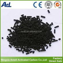 activated carbon for removal CO CO2