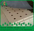 Melamine MDF slot board with competitive price