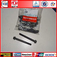 3900631 3914407 hexagon Head screw DCEC bolt for foton Dongfeng truck car spare parts