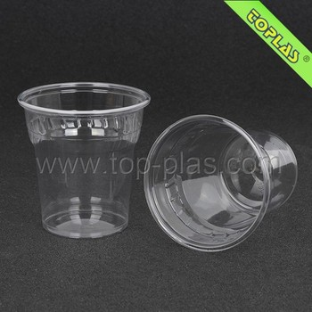 Hot Sales 250cc PET disposable Cups/ 8oz Airline Plastic Cup