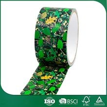 waterproof decorative souvenir gift packing high adhesive duct tape, adhesive decorative glitter tape