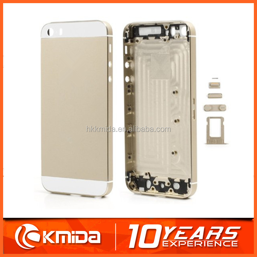 100% original cell phone housing for iphone 5s battery cover , battery cover for iphone 5s