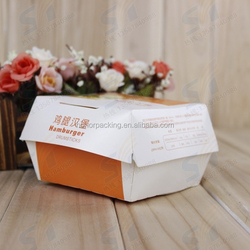 Factory price Disposable paper food box manufacturer in China fast food packaging box wholesale