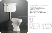 two piece toilet , hot sale African toilet, washdown toilet