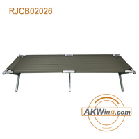 New Portable Folding Lightweight Cot, Army Style Sleeping Cots Emergency Bed