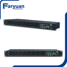 Remote Intelligent IP monitored PDU, IP Power Distribution unit