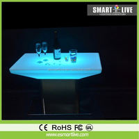 LED table display rack for vodka