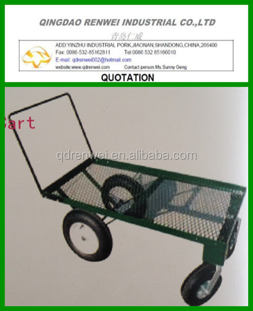 EZ-Haul Four Wheel Garden Cart