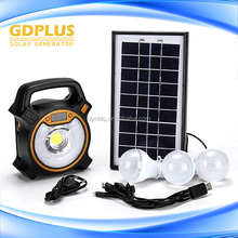 High quality use small mini panels solar hot sale home solar systems with 3bulbs and charger cheap price solar panel system