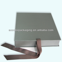 Silk scarf of folding box, bronzing, hot silver