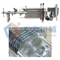 CE Plate Diatomite filter machine for fruit juice 2 ton per hour