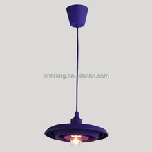 Colourful Chandeliers & Pendant Lights/ silicone pendant lamp with E27 Lampholder