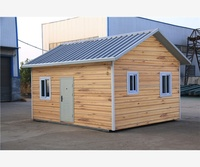 Temporary living cheap prefab keep warm prefab houses