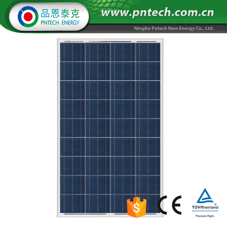 photovoltaic solar panel poly module 105w